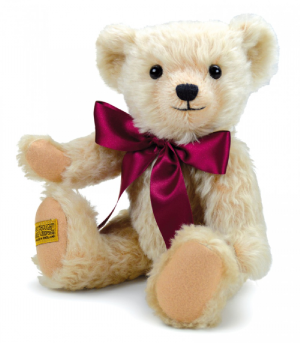 Henley;  blonde jointed mohair teddybear by Merrythought. 12""